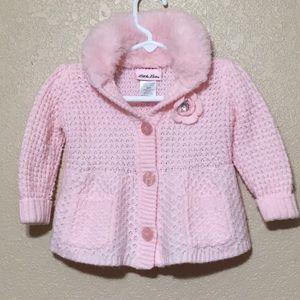 Little Lass baby girl sweater 18 months